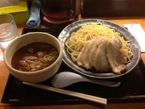 しょうゆチャーシューつけ麺(癒庵)