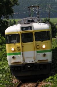 2014.7.30. 弥彦線 弥彦~矢作