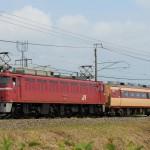 新津へ移送されるT18編成クハ481-1508