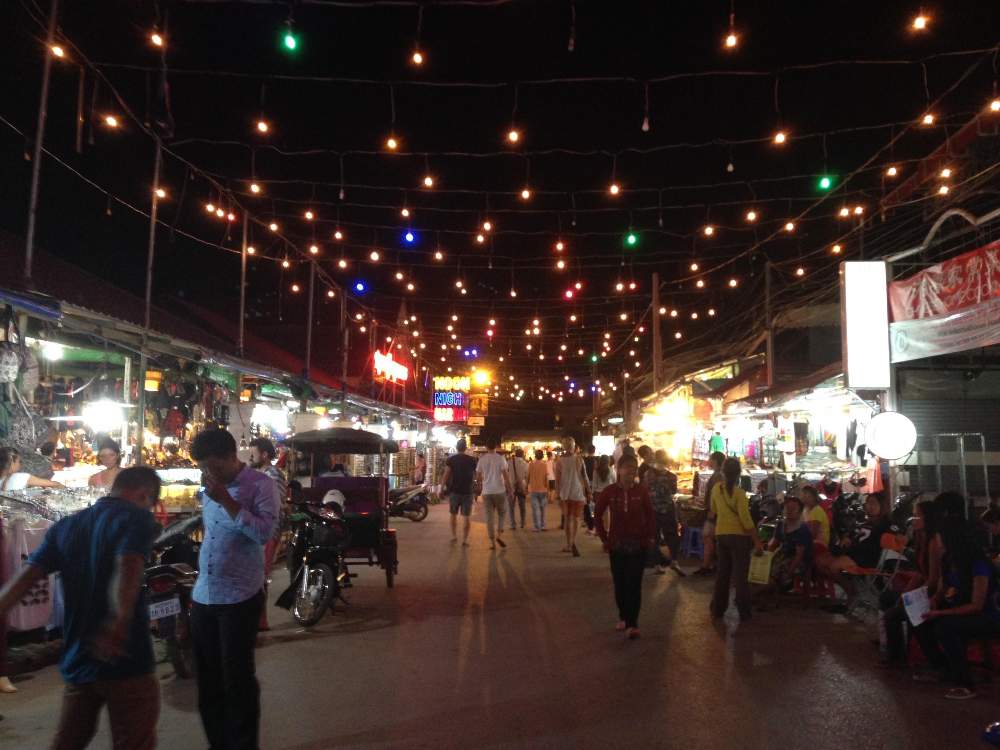 2015カンボジア旅行記 アンコール・トム~ナイトマーケット編