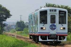 2015.8.4. 37レ 関東鉄道竜ヶ崎線 入地~竜ヶ崎