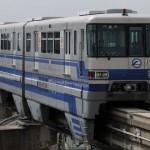 大阪モノレールを撮影
