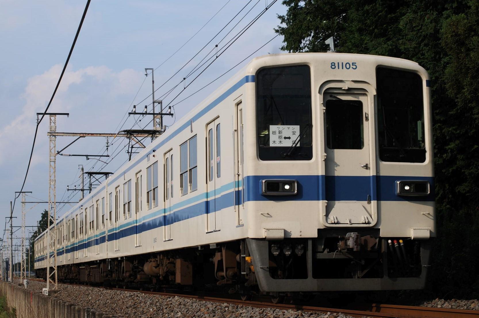 東武宇都宮線の災害による区間折返し運転