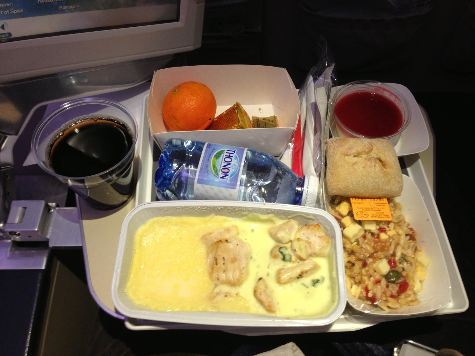 エールフランス航空276便 パリ(ドゴール)→成田 搭乗記