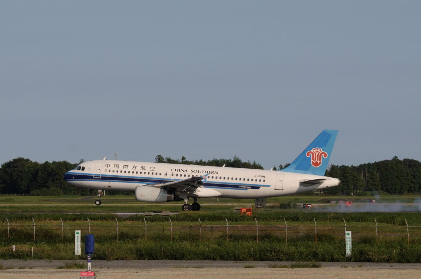 中国南方航空@茨城空港