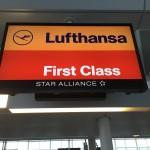 ルフトハンザドイツ航空717便 羽田→フランクフルト ファーストクラス搭乗記 その1