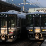 福知山界隈の普通列車
