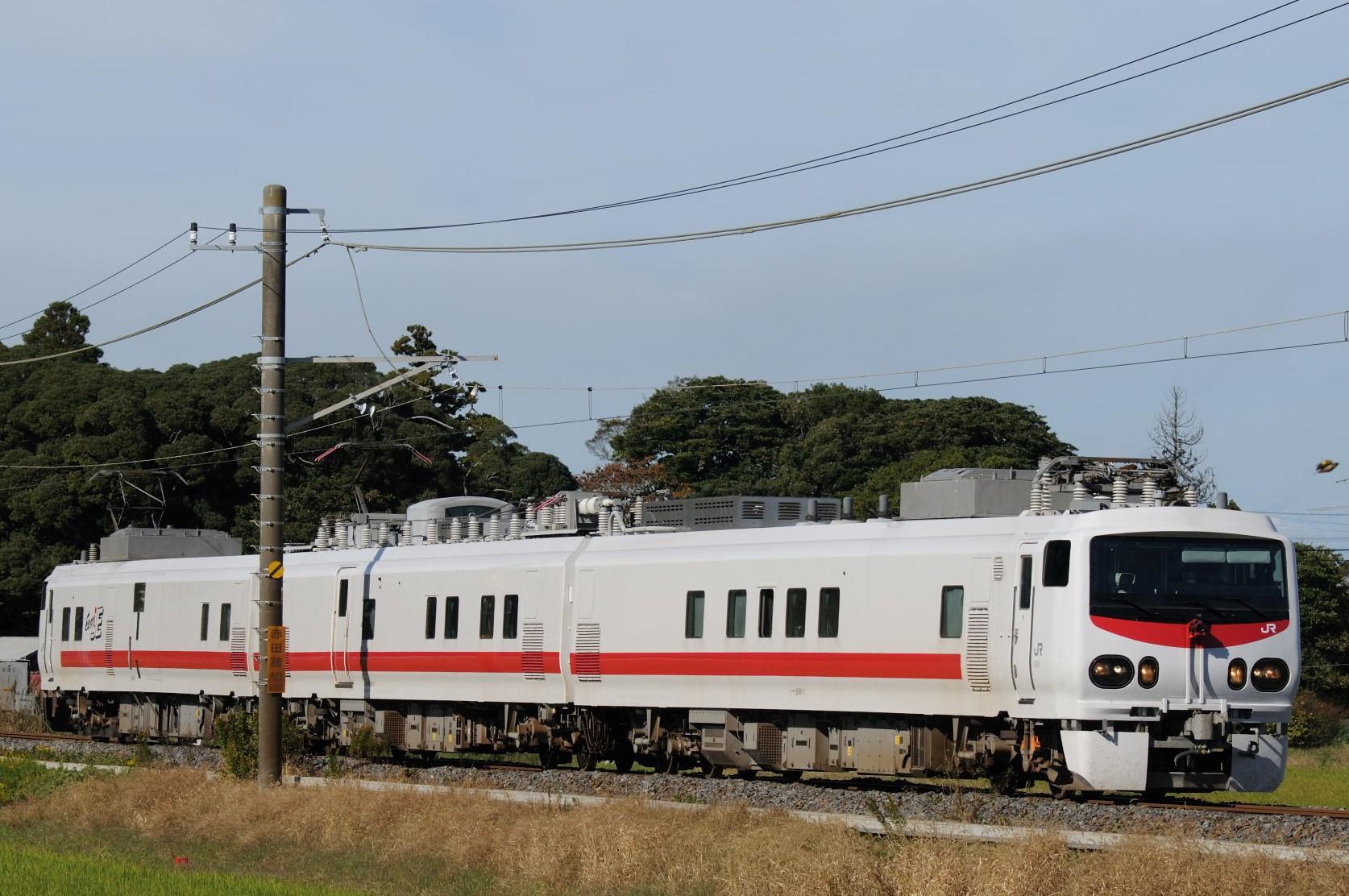 成田線(佐松線)に入線したE491系East-i E