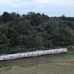 成田線と鹿島線のEast i-E検測の最後はいつもの場所で…