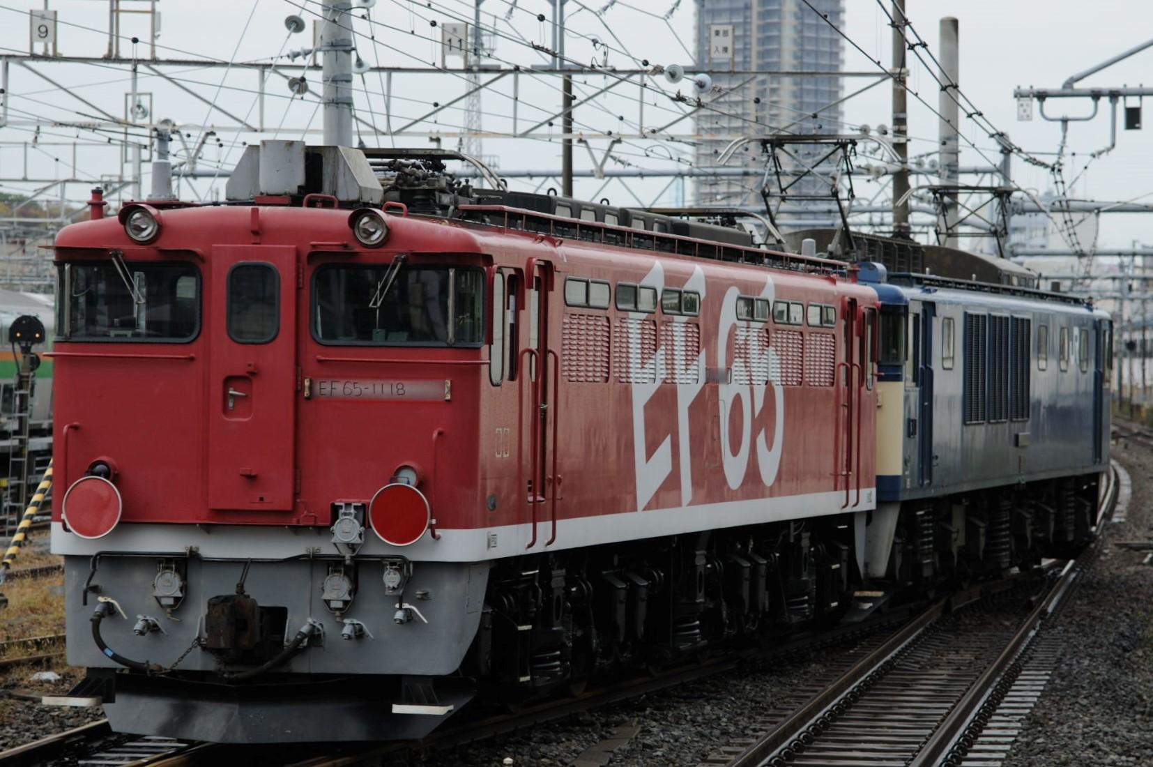EF65 1118最後の旅立ち