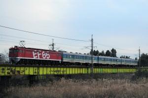 2012.12.5. 配8141 東北本線 蒲須坂~片岡