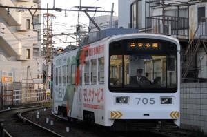 2016.1.22. 阪堺電気軌道 上町線 住吉~住吉公園