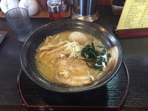 味噌ラーメン(味玉トッピング)