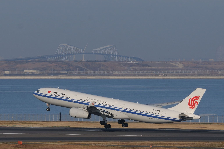 春節なので中国国際航空をアップ!
