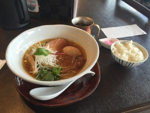 藤原家麺(大盛)