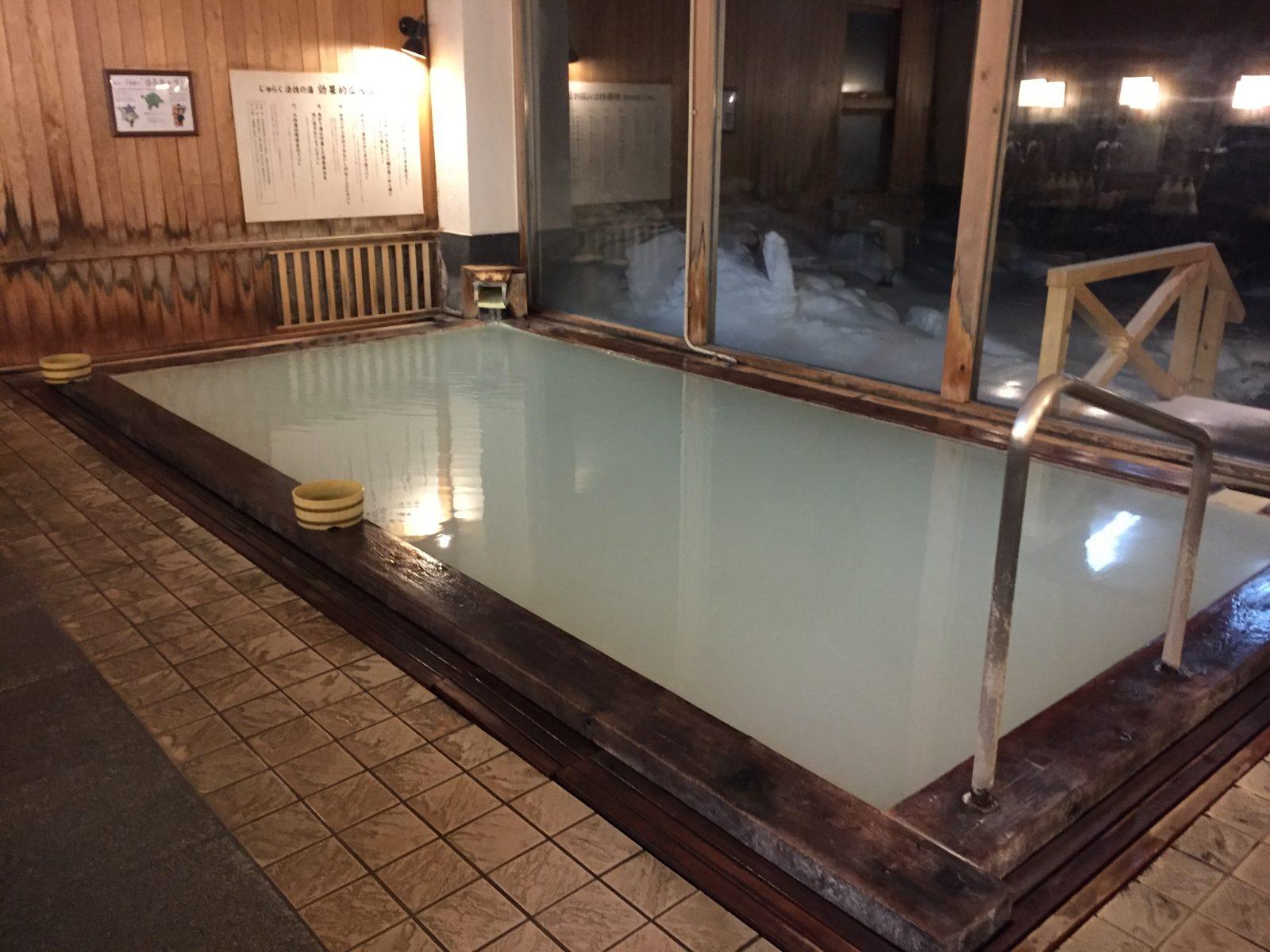 日本一の硫黄泉を求めて 万座温泉ホテル聚楽 宿泊記 その2 (温泉大好き!21 万座温泉 ホテル聚楽)