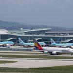 2018年7月航空旅行記 その19 仁川空港展望台で飛行機撮影