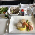キャセイパシフィック航空451便 東京(成田)→台北 ビジネスクラス搭乗記 その2
