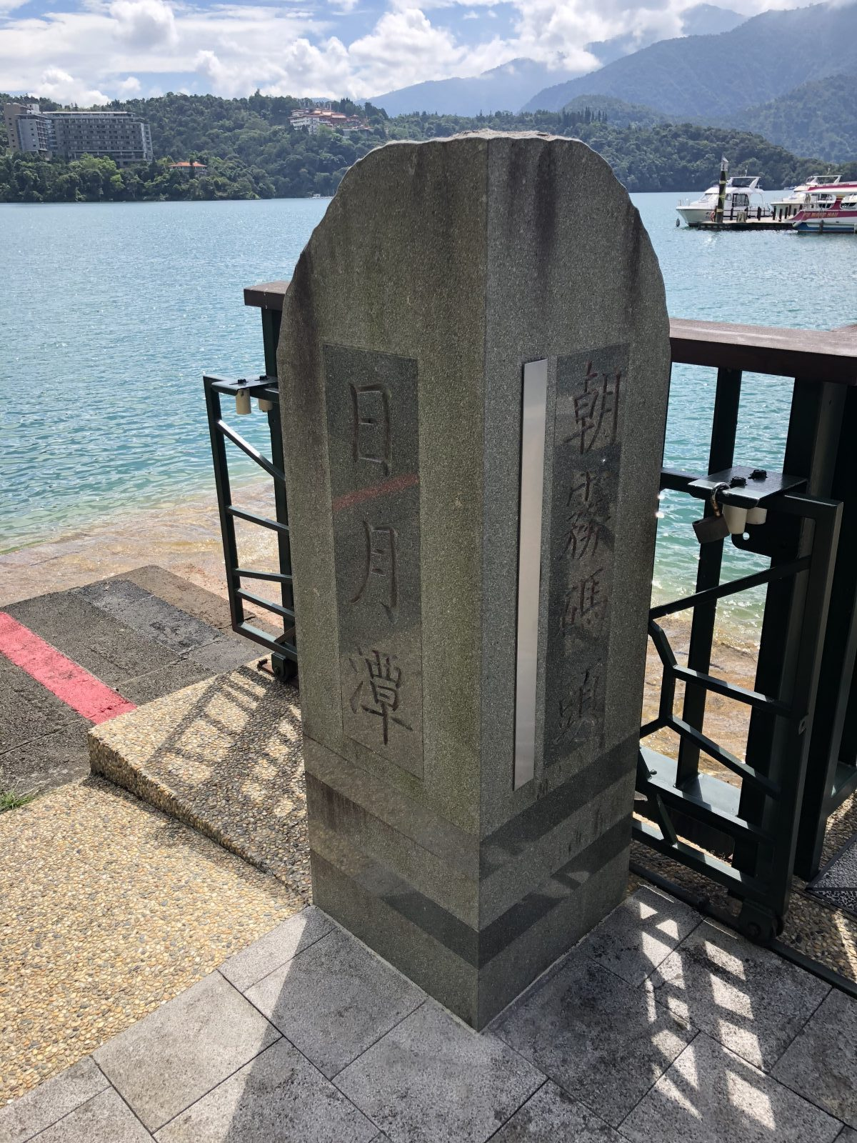 2018台湾旅行記 その2 日月潭クルーズ~台南~高雄~夕食