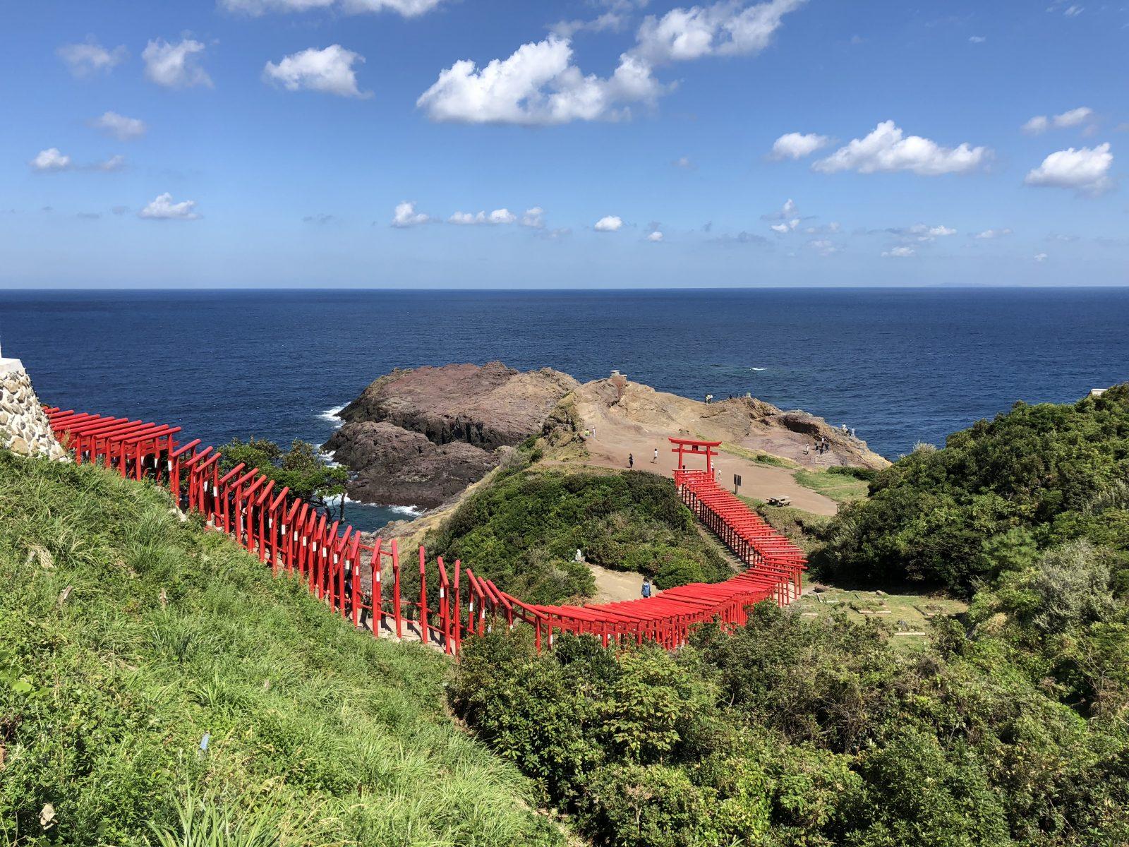 東後畑棚田と元乃隅稲成神社
