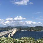 角島大橋と宇賀本郷でキハを撮影