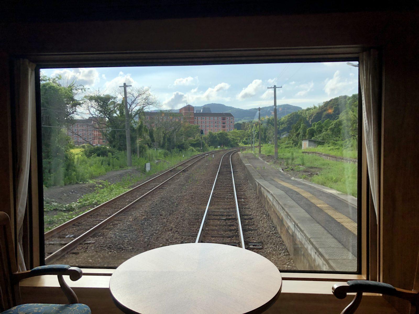 クルーズトレインななつ星㏌九州 乗車記 その3 昼食~ティータイム~組子制作体験
