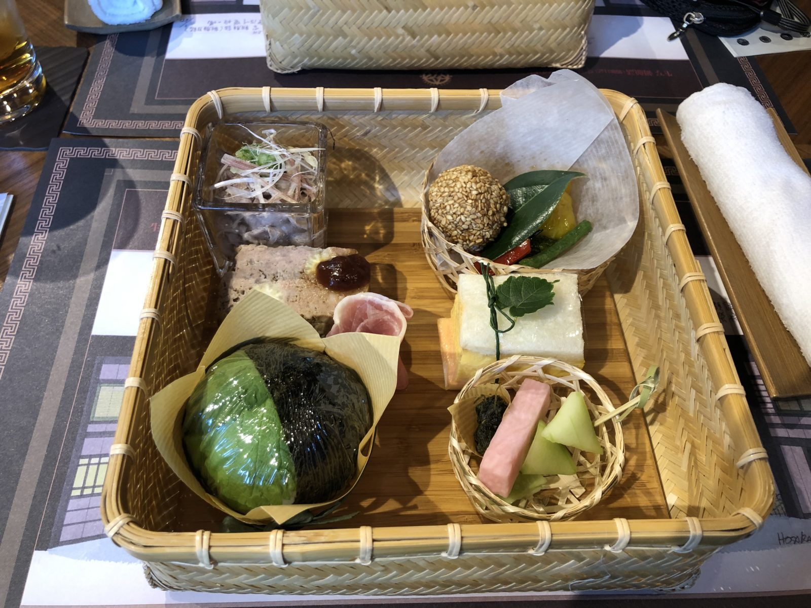 クルーズトレインななつ星㏌九州 乗車記 その10  テツの食卓99 ななつ星in九州 2日目昼食